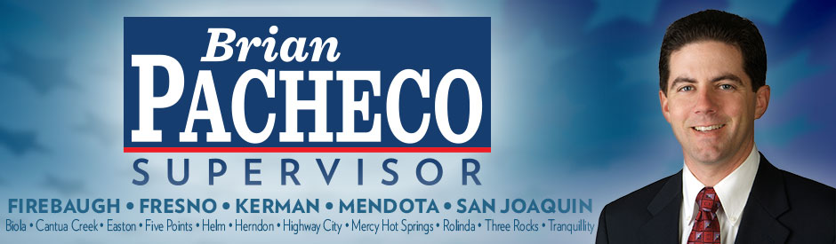 Brian Pacheco for Supervisor